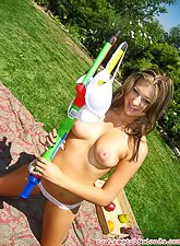 Alluring teen bitch wants to please her man during a sexy picnic. She loves his big meat pole
