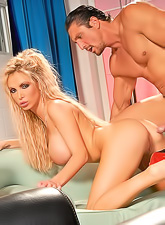 Nikki Benz gives such a blowjob that makes cock hard after just a few seconds.