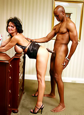 Ripe slut Deauxma gets wrecked by a black stud and drizzled with his sizzling hot jizz.
