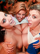 Sara Jay Jayden Jaymes Alexis Fawx and Anastasia Morna fuck in an wild orgy.