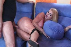Taylor Wane takes her little panties off and gets her bush nailed by big cock