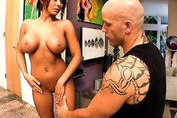 Madison Ivy screams passionately while she gets her tight fanny screwed hard.